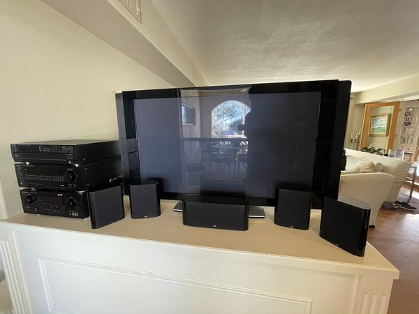 "Pioneer 50"" Plasma Home Theatre system"