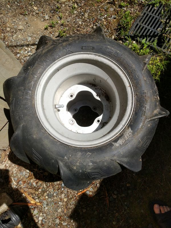 ITP Sandstar AT20x11 Left & Right Rear Paddle Tires - 2 Available - Used