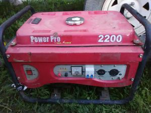 Generator for Sale in Squaw Valley, CA