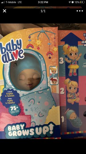 Baby alive for Sale in Bakersfield, CA
