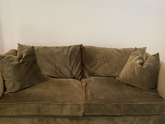 Beautiful And Lux Couch/chaise (army Green) for Sale in Dallas,  TX