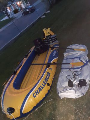 New 3 person boat w everything $150 for Sale in Salt Lake City, UT