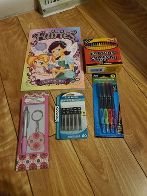 Color&Activity&Crayons&Mechanical Pencils&Lead Refills&Keyring And Pen Gift set for Sale in Westminster, CO