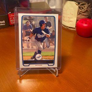 2012 Joc Peterson Bowman 1st Card for Sale in Geneva, IL