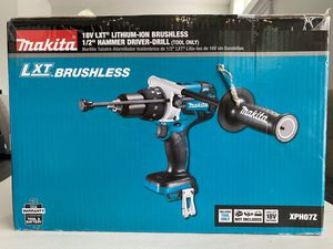 Makita XPH07Z 18V Lithium-Ion Brushless 1/2-inch Hammer Drill Driver XPH07 BRAND NEW for Sale in Winter Springs, FL