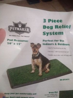 3 piece dog relief system for Sale in Groves, TX
