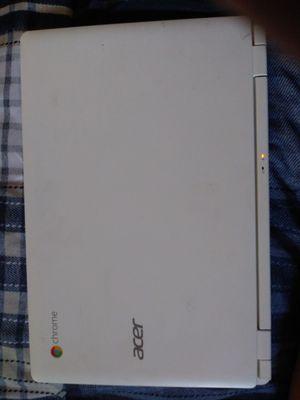 Acer White Chromebook series 11 for Sale in Las Vegas, NV