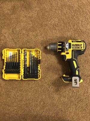 Dewalt 20v XR drill w/ Free Bits for Sale in Marion, IN