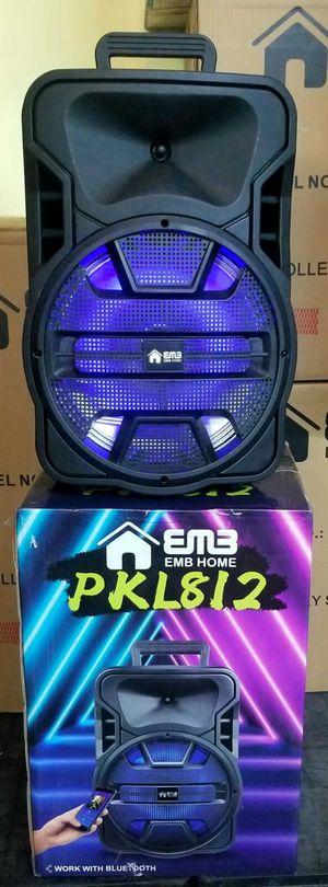 Brand new Bluetooth speaker, memory card, USB port, Aux input for Sale in Miami, FL