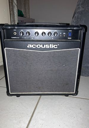 Acoustic G20 amplifier for Sale in San Diego, CA