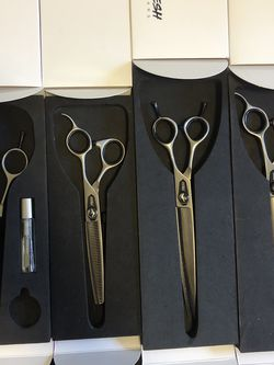 4 FRESH Shears Pet Grooming Scissors for Sale in Hollywood,  FL