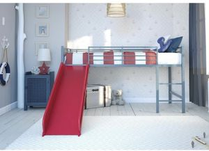 Ikea twin bed with the red slide for Sale in Jackson Township, NJ