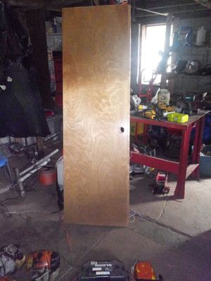 Two brand new wood doors for Sale in Oklahoma City, OK