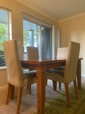Hardwood Dining Room Table for Sale in Issaquah, WA