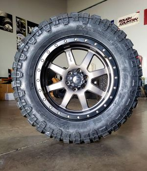 20x9 20x10 Fuel Wheels & 35x12.50-20 PATRIOT TIRES ,for TRUCK SUV JEEP ( we Finance ) for Sale in Phoenix, AZ