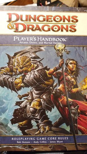 D&D Players Handbook Dungeons & Dragons for Sale in Seattle, WA