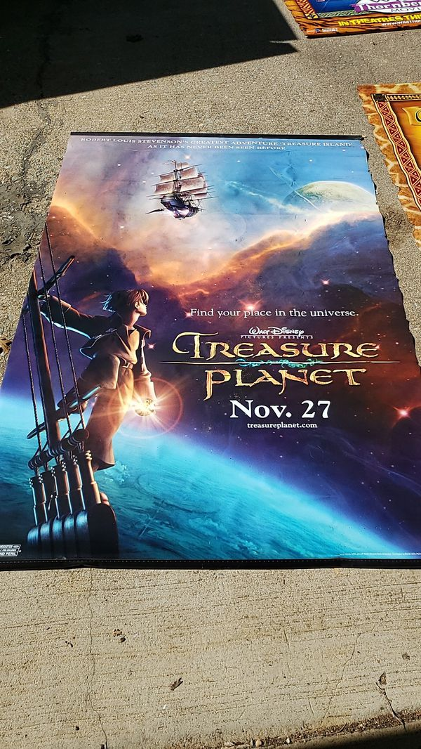 Three 6' Vinyl movie posters $50 for all 3
