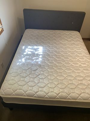 Brand New Amazon Queen Bed with Mattress that can be taken apart for Sale in Rolla, MO
