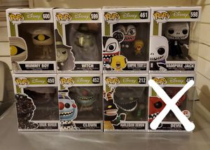 Disney Nightmare Before Christmas Funko Pop! for Sale in San Diego, CA