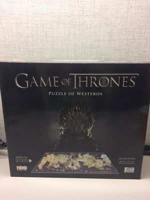 4D cityscape Game of Thrones: Westeros Puzzle 1400 piece for Sale in Renton, WA