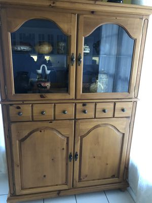 Kitchen cabinet solid wood for Sale in Rocky Mount, NC