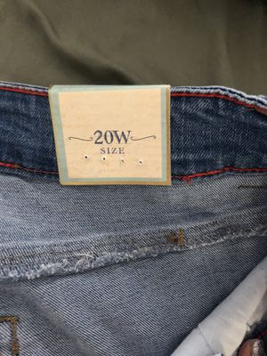 3 pairs of One 5 One jeans size 20 for Sale in Kennebec, SD