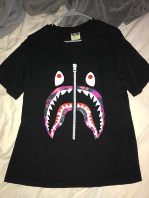 bape camo jaw t shirt for Sale in Vienna, VA