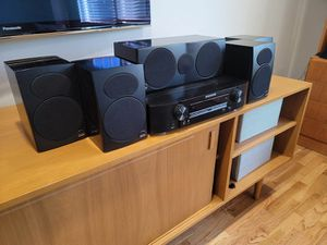 Awesome 5.1 setup. Marantz, Def Tech, Athena, Jamo by Klipsch for Sale in Seattle, WA