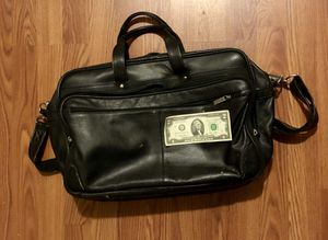 Leather laptop riffle bag for Sale in Silver Spring, MD