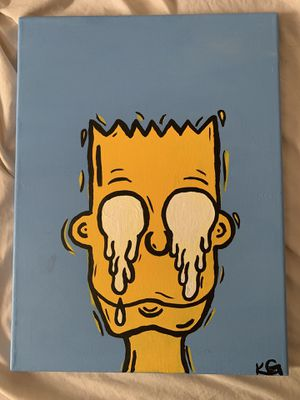 Bart Simpson Alternative Painting for Sale in Lillington, NC