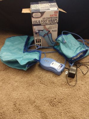 Leg and foot compression to improve circulation of blood for Sale in Atascadero, CA