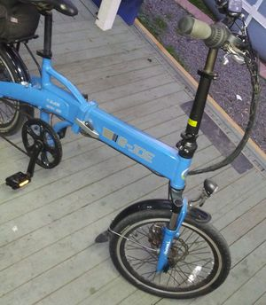 E-joe electric bicycle with charger for Sale in San Diego, CA