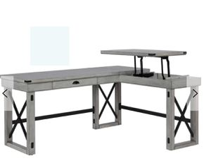 Gladstone L-shapes executive desk with lift for Sale in Atlanta, GA