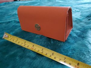 Tory Burch Orange Sunglasses Case Never Used for Sale in Falls Church, VA