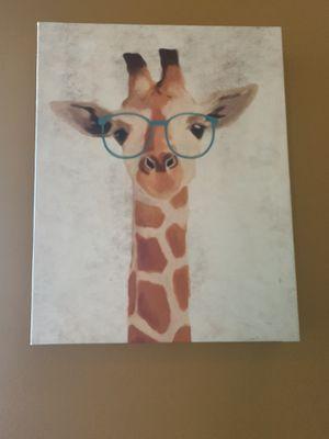 Giraffe decor for kids room for Sale in Chicago, IL