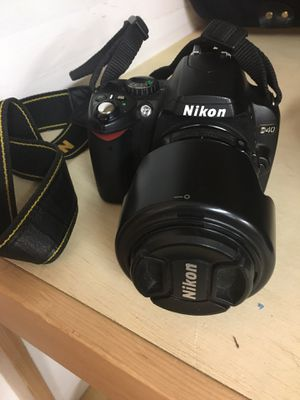 Nikon D40 Camera with 55 mm lens for Sale in Bothell, WA