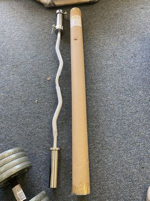 Brand new curl bar in box for Sale in Wallingford, CT