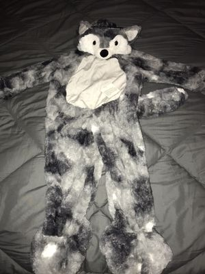 Toddler wolf comfy soft fluffy jumpsuit for Sale in San Diego, CA