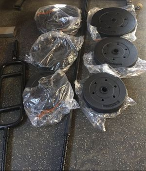 Weights w/ Extras for Sale in Paramount, CA