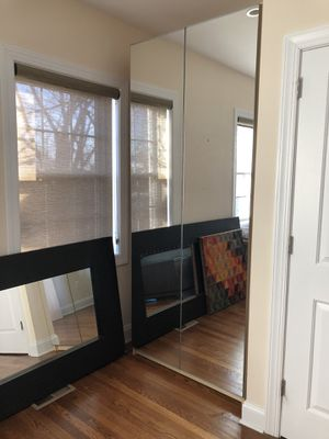 IKEA pax wardrobe with mirror doors for Sale in Washington, DC