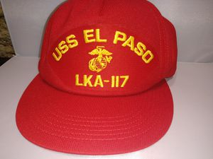 USS EL PASO vtg Marines/Navy hat for Sale in Newport News, VA