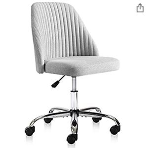Rimiking Home Office Modern Twill Fabric Adjustable Mid-Back Task Ergonomic Executive Chair, Gray for Sale in Fontana, CA