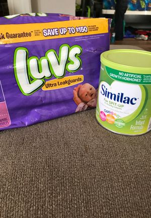Diapers and formula for Sale in Garland, TX