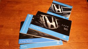 2006 Honda Civic owners manuals for Sale in Tampa, FL