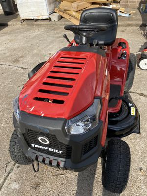 Troy-Bilt Pony 42 in. 439 cc Auto-Choke Engine 7-Speed Manual Drive Gas Riding Lawn Tractor with Mow-in-Reverse for Sale in Houston, TX
