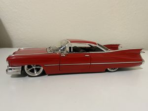 Diecast model 1959 Cadillac Deville 1:24 scale Jada Toys for Sale in Dewey, AZ