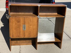 Campaign style shelving unit for Sale in Clinton Township, MI