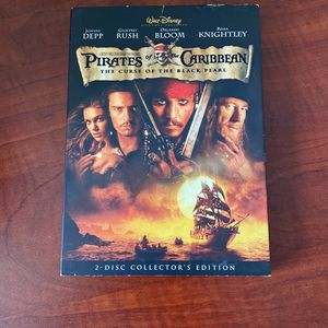 Pirates Of The Caribbean: The Curse Of The Black Pearl DVD for Sale in Port Richey, FL