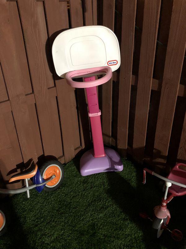 Little tikes girls basketball hoop