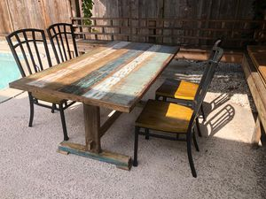 table + 4chairs $485 for Sale in San Jose, CA
